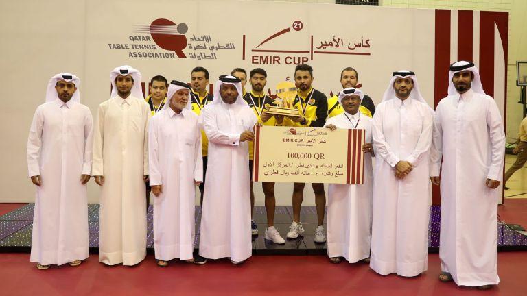 Photo of نادي قطر بطلا لكأس سمو الأمير المفدى لكرة الطاولة للمرة الرابعة على التوالي