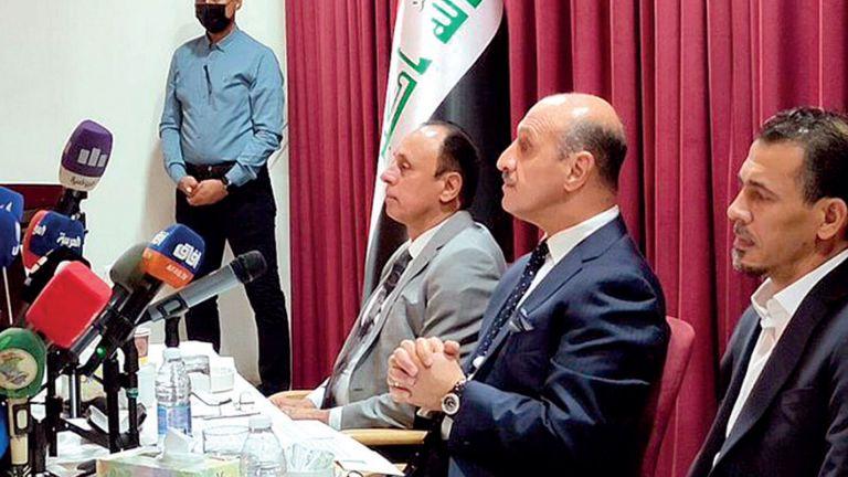 Photo of درجال رئيسًا للاتحاد العراقي