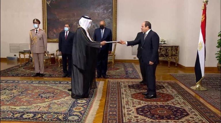 Photo of الرئيس المصري يتسلم أوراق اعتماد سفير دولة قطر