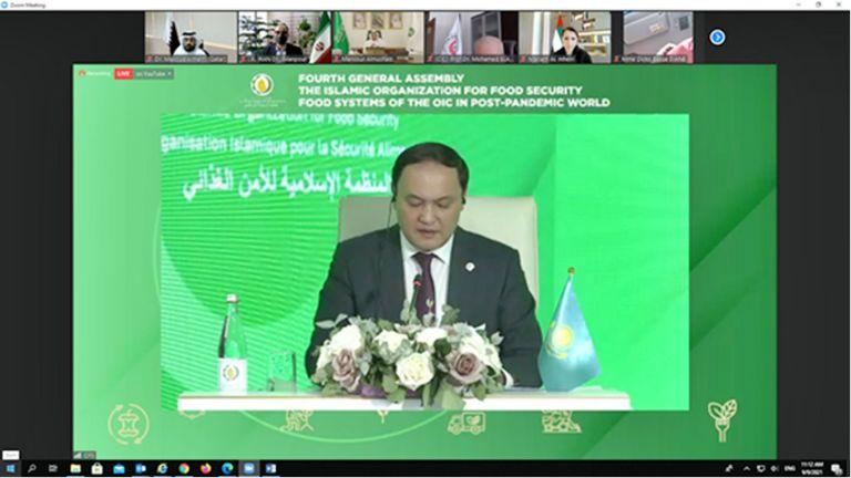 Photo of البلدية تشارك في اجتماع المنظمة الإسلامية للأمن الغذائي