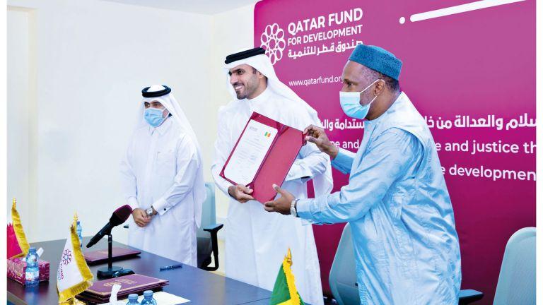 Photo of قطر تدعم وصول التعليم لجميع الأطفال في مالي