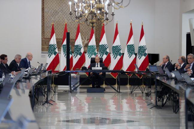 Photo of مجلس الوزراء اللبناني يقر البيان الوزاري
