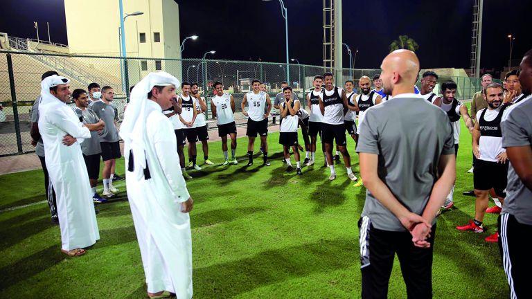 Photo of إدارة أم صلالالجديدة تدعم اللاعبين