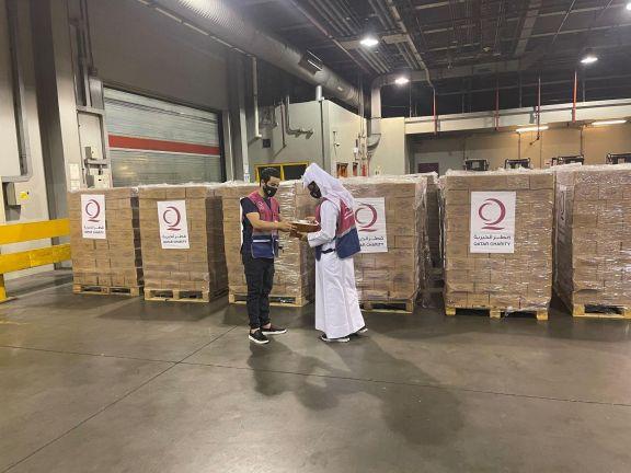 Photo of وصول سادس طائرة قطرية تحمل مساعدات إنسانية إلى كابول