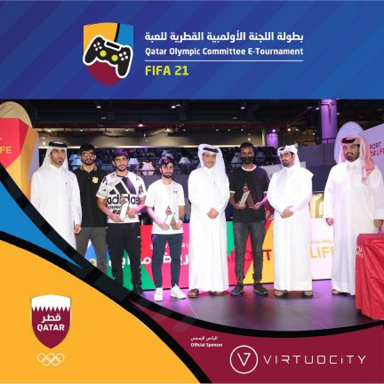 Photo of نجاح كبير لبطولة اللجنة الأولمبية القطرية للألعاب الالكترونية