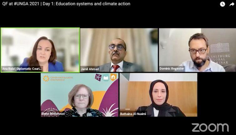 Photo of مؤسسة قطر تنظم حلقة نقاشية عن تطوير معارف المعلّمين حول تغيّر المناخ
