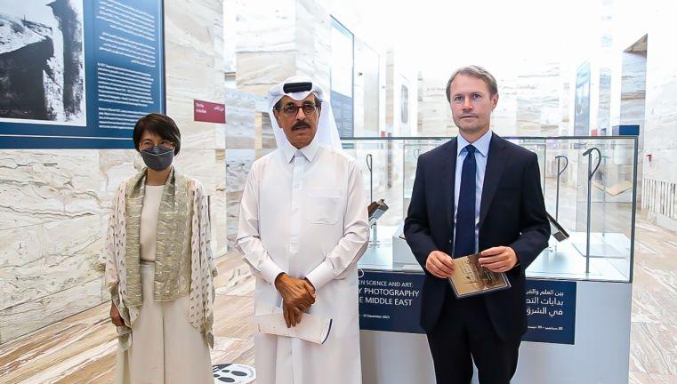 Photo of مكتبة قطر الوطنية تفتتح معرض بين العلم والفن : بدايات التصوير الفوتوغرافي في الشرق الأوسط