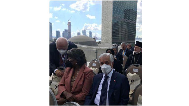 """Photo of دولة قطر تشارك في حفل افتتاح """"البيت التركي"""" في نيويورك"""