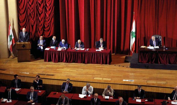 Photo of حكومة ميقاتي تفوز بثقة البرلمان اللبناني