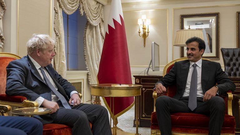 Photo of صاحب السمو يستقبل رئيس الوزراء البريطاني