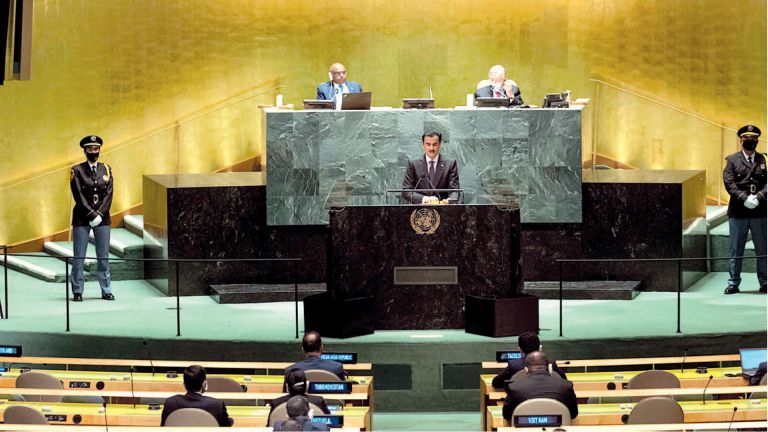 Photo of خطاب الأمل والسلام والشراكة الدولية