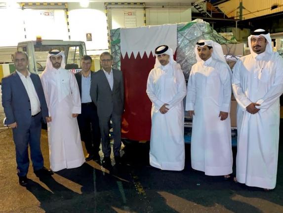 Photo of وصول طائرة قطرية تحمل مساعدات طبية عاجلة إلى إيران