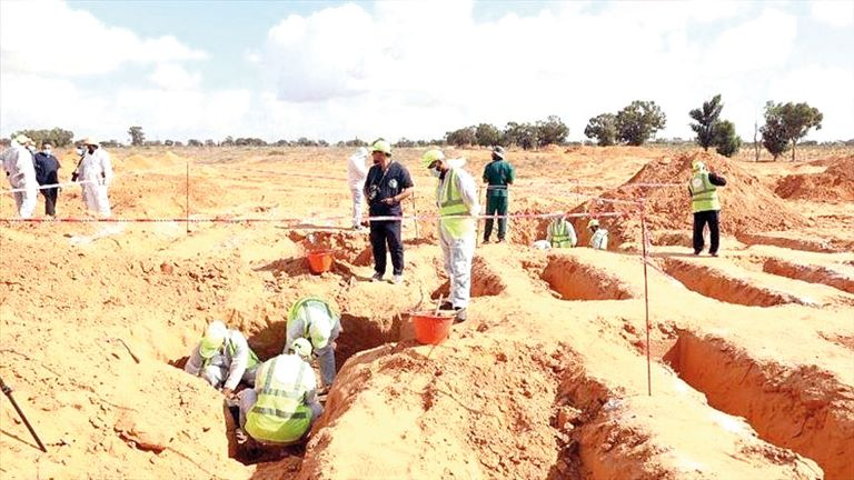 Photo of ليبيا: اكتشاف مقبرتين جديدتين في ترهونة