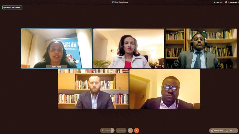 Photo of جامعة حمد بن خليفة تناقش قضايا الأمن الغذائي في إثيوبيا