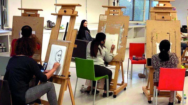 Photo of موسم جديد من دورس الفن في «متحف»