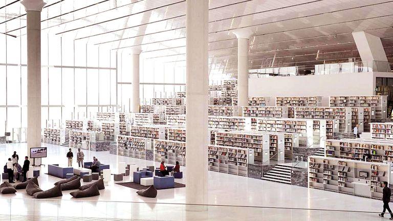 Photo of المكتبة الوطنيّة تستقبل الجمهور بطاقة استيعابية كاملة