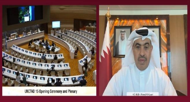 Photo of قطر تشارك في الدورة الـ15 لمؤتمر الأمم المتحدة للتجارة والتنمية (الأونكتاد)