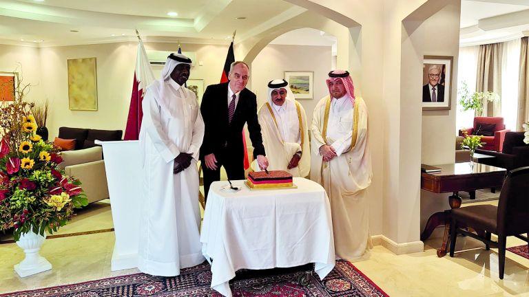 Photo of قطر تشارك ألمانيا احتفالاتها بيوم الوحدة
