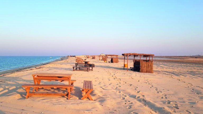Photo of شاطئ خاصّ بالنساء في الغارية