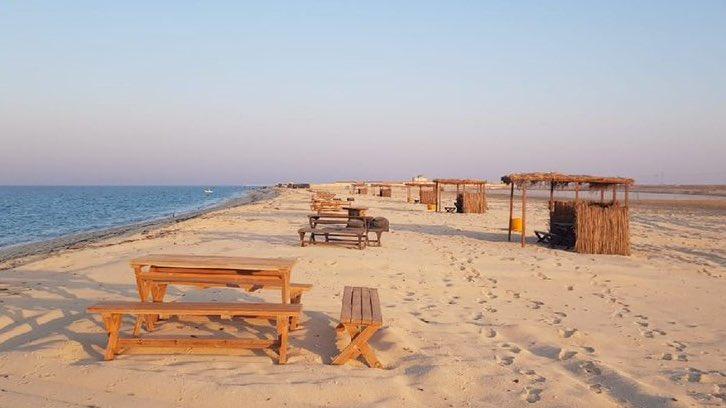 Photo of شاطئ خاص بالنساء في منطقة المملحة (الغارية)
