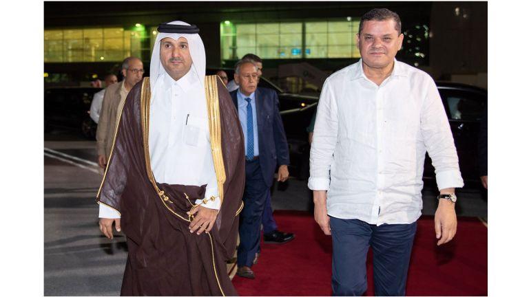 Photo of رئيس حكومة الوحدة الوطنية الليبي يغادر الدوحة