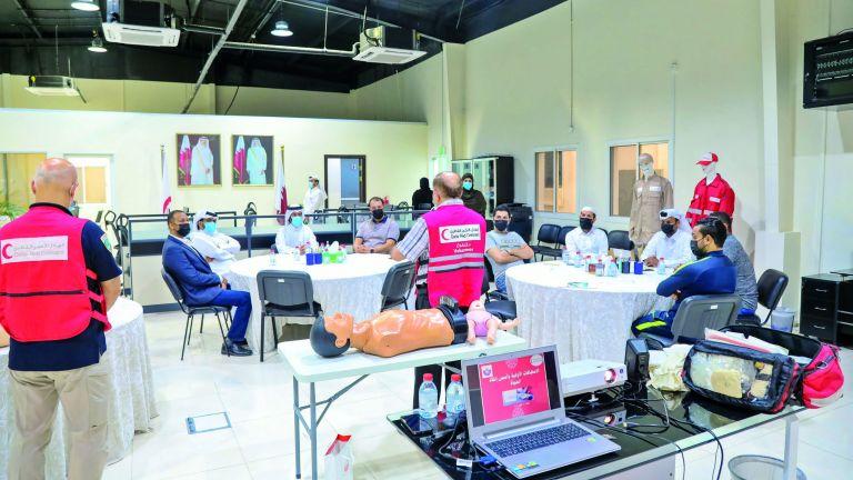 Photo of الهلال الأحمر يعزز ثقافة التأهب للكوارث في المجتمع