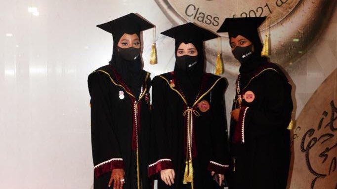 Photo of جامعة قطر تحتفل بتخريج طالبات الدفعة الرابعة والأربعين