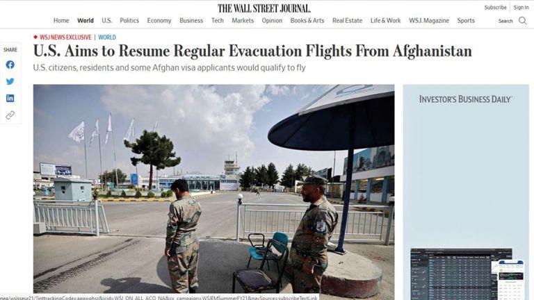 Photo of الدعم القطري مهم لاستئناف أمريكا الإجلاءَ من أفغانستان