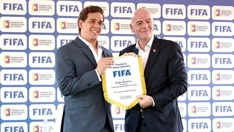 Photo of FIFA يروّج لفكرته المونديالية