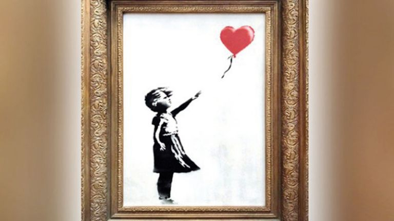 Photo of بيع «الفتاة مع البالون» بـ 4,25 مليون دولار