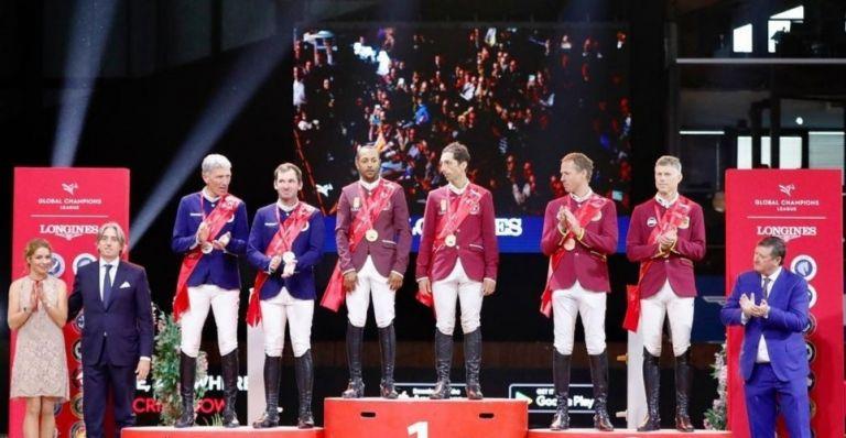 "Photo of فريق ""صقور الدوحة"" يتوج بالجائزة الكبرى لجولة سامورين السلوفاكية"