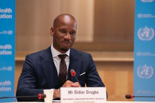 Photo of تعيين دروجبا سفيرًا لمنظمة الصحة العالمية