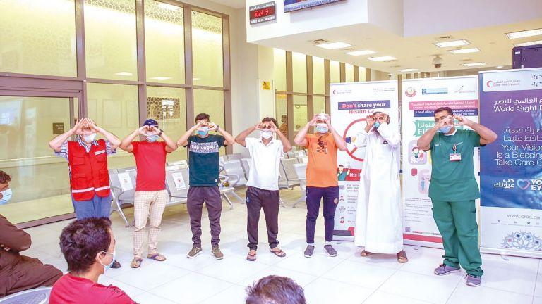 Photo of الهلال الأحمر يحتفل باليوم العالمي للبصر
