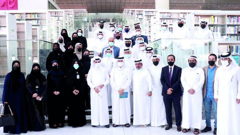 Photo of شراكة بين المكتبة الوطنية وملتقى المؤلفين