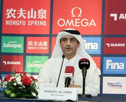 Photo of رئيس الاتحاد القطري للسباحة: استضافة الجولة الثالثة لبطولة كأس العالم تؤكد الثقة الدولية بالدوحة