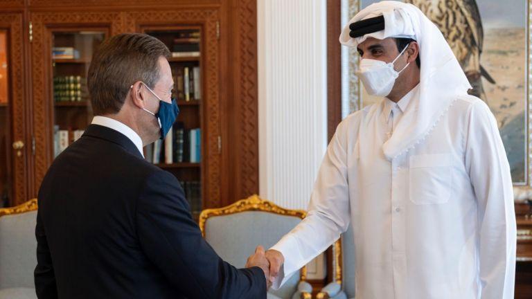Photo of صاحب السمو يستقبل رئيس مجلس إدارة كريديت سويس
