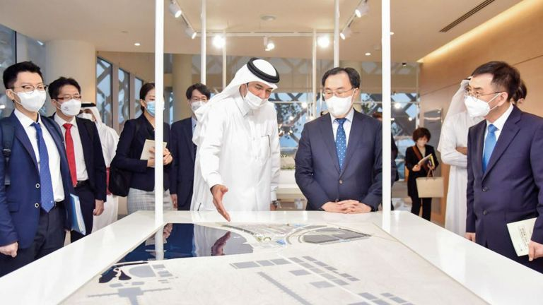 Photo of تطوير التعاون بين المناطق الحرة في قطر وكوريا