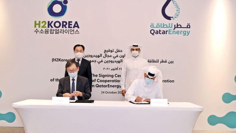 Photo of قطر للطاقة تعزز شراكتها مع كوريا