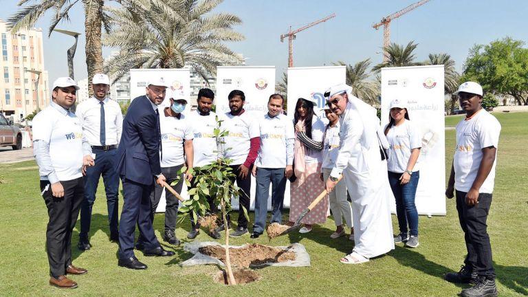 Photo of كارفور يشارك في مبادرة زراعة مليون شجرة