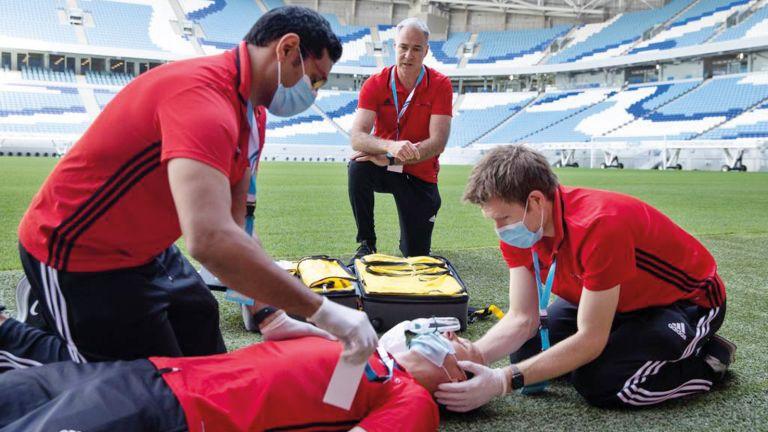 Photo of دورات تدريبية لـ FIFA على طريق قطر 2022
